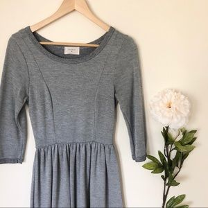 Everly | Long Sleeve Fit And Flare Dress